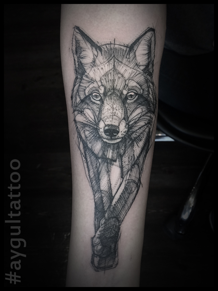 #fox #sketchy #aygultattoo