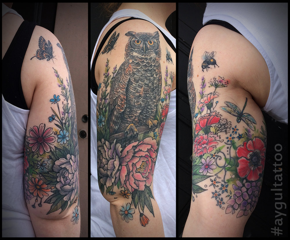 owl-flowers-at-arm-by-Aygul-Tattoo.jpg