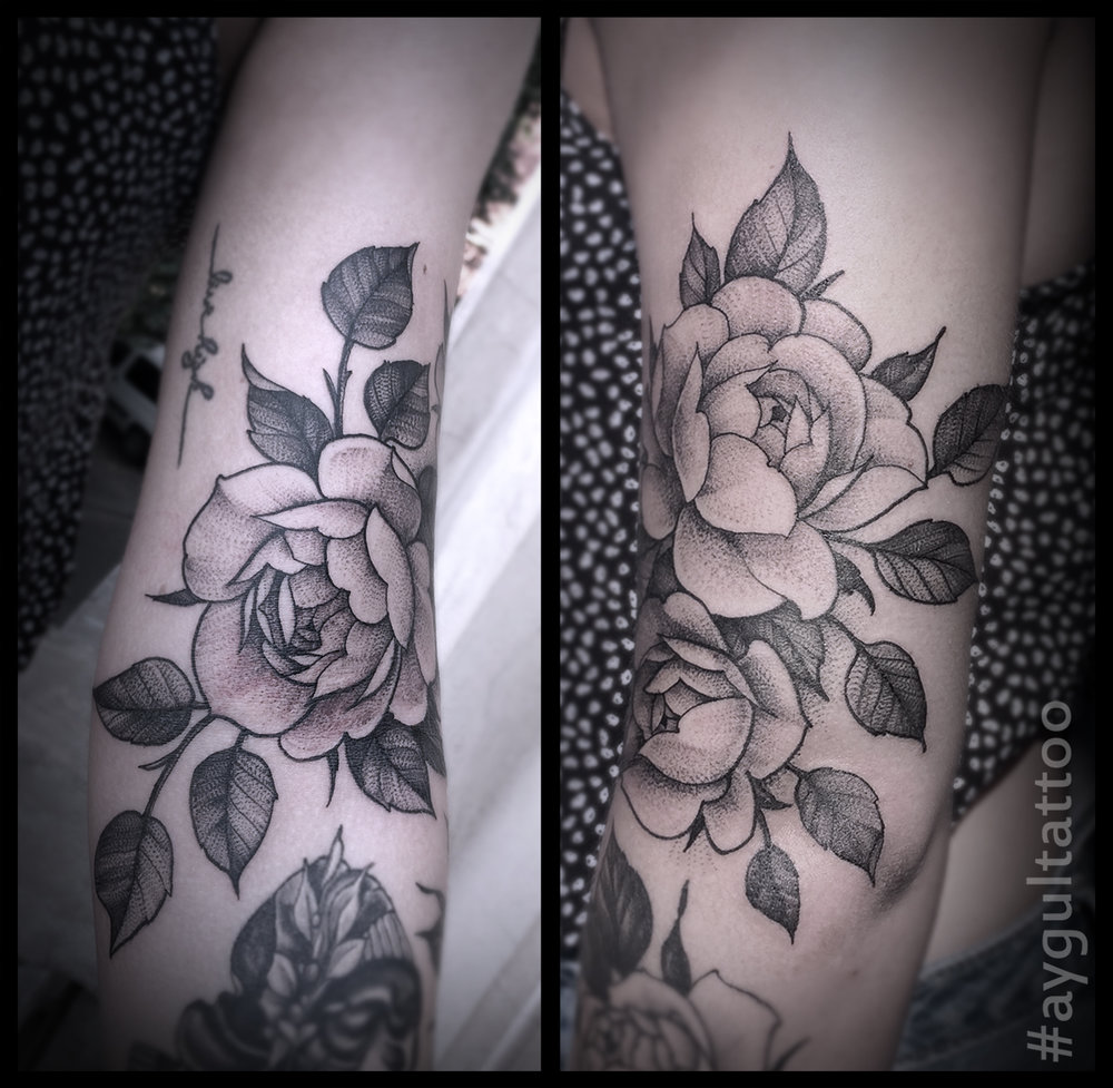 #rose #sketchy #aygultattoo