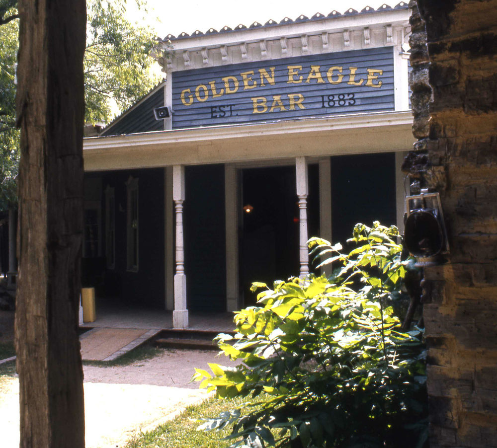The Golden Eagle Bar inside Texana Village at Aquarena springs in san marcos texas.jpg