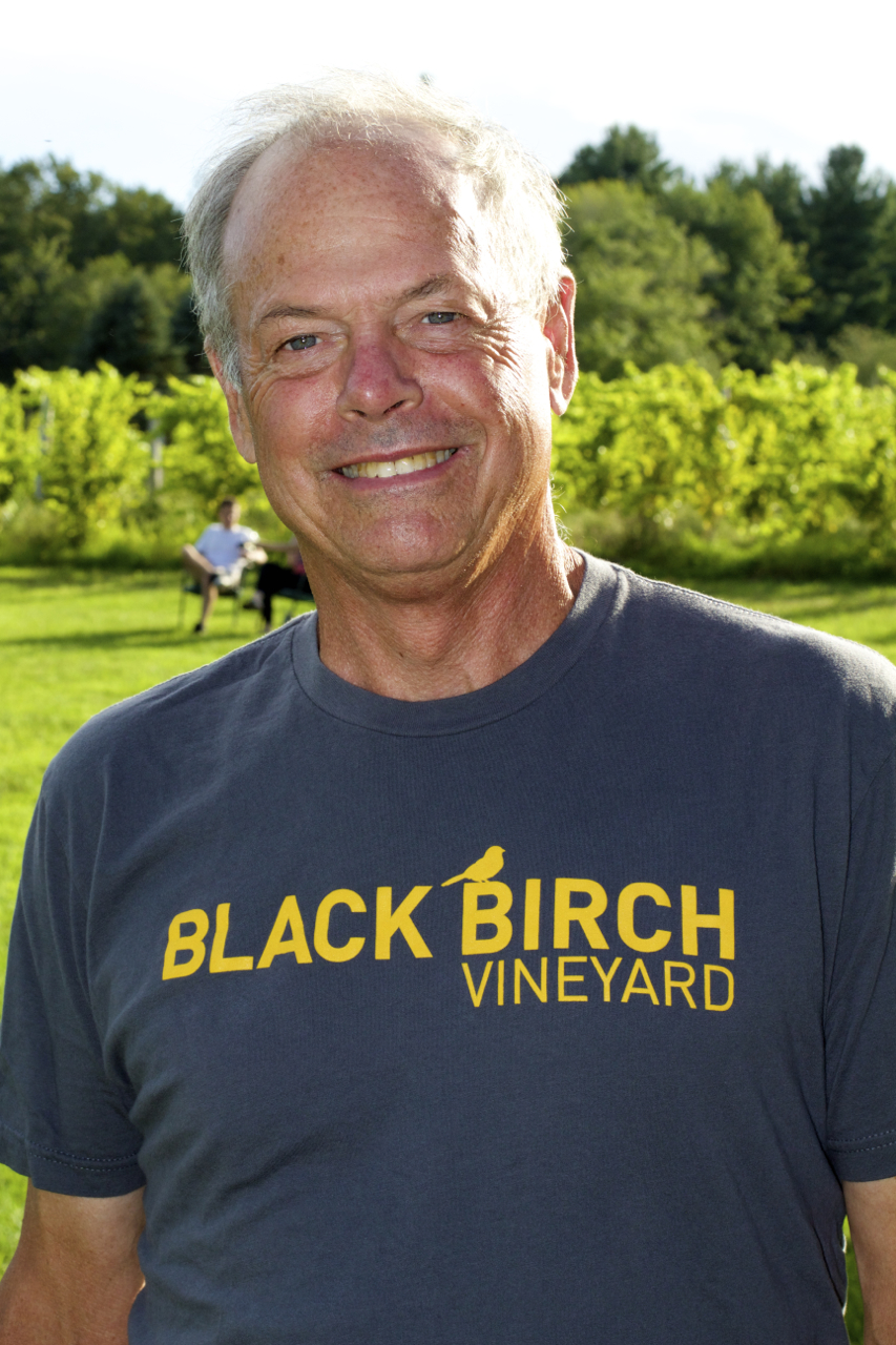Ed Hamel of Black Birch Vineyard and Winery during the JAM Fund VIP dinner. Photo by Vicky Sama.