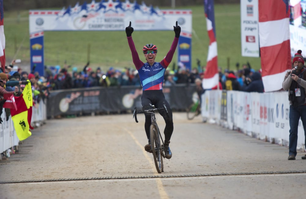 JAM Fund co-founder Jeremy Powers won his fourth Cyclocross National Championship on Sunday.