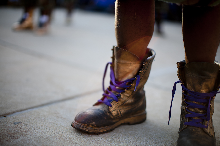 Omega Psi Phi boots