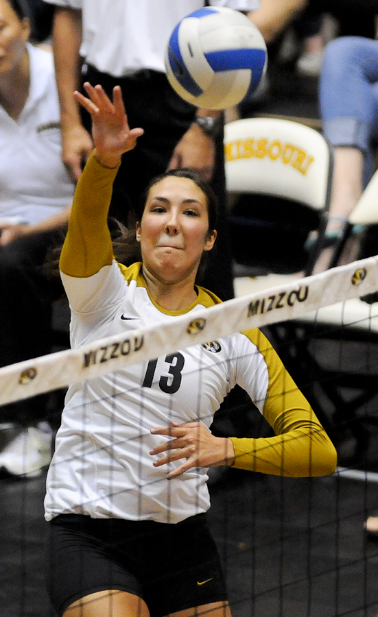 mu volleyball Emily Wilson