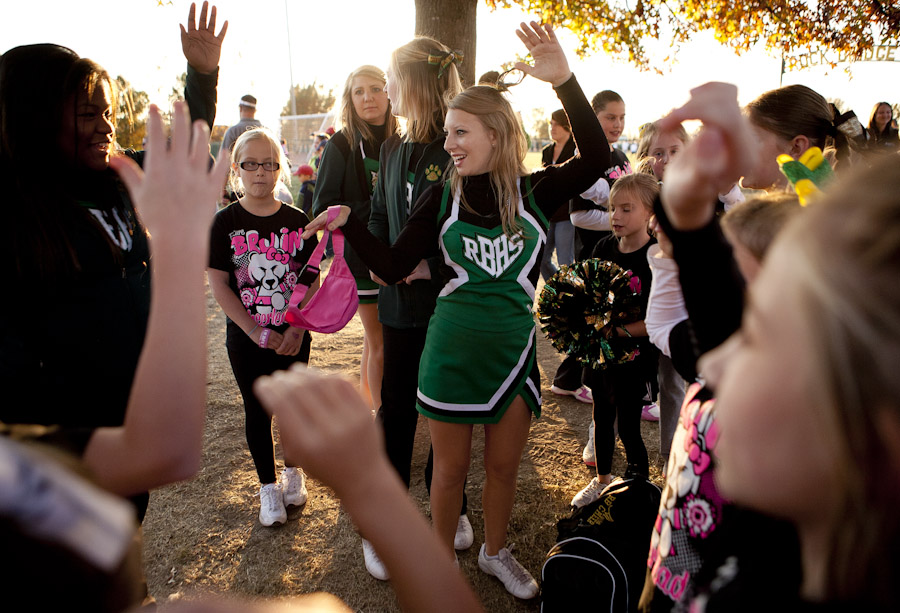 rock bridge high school cheerleader