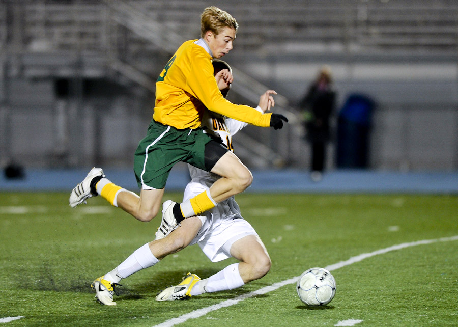 rock bridge high school soccer Eli Sherman