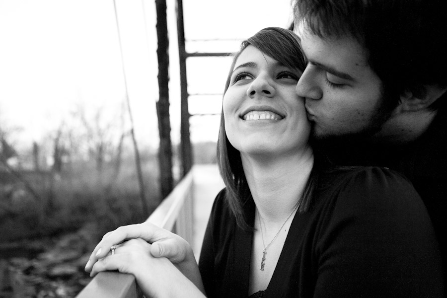engagement photo columbia mo