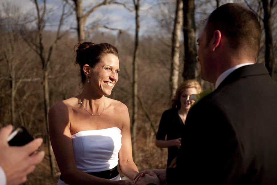 february wedding, outdoor wedding