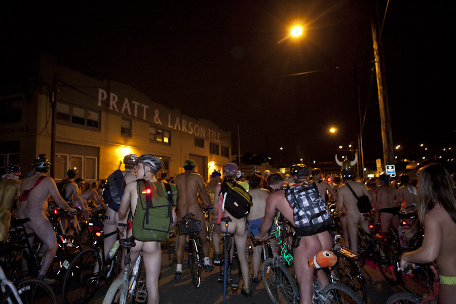 naked bike ride pdx
