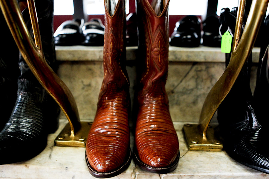 shoe shiner portland