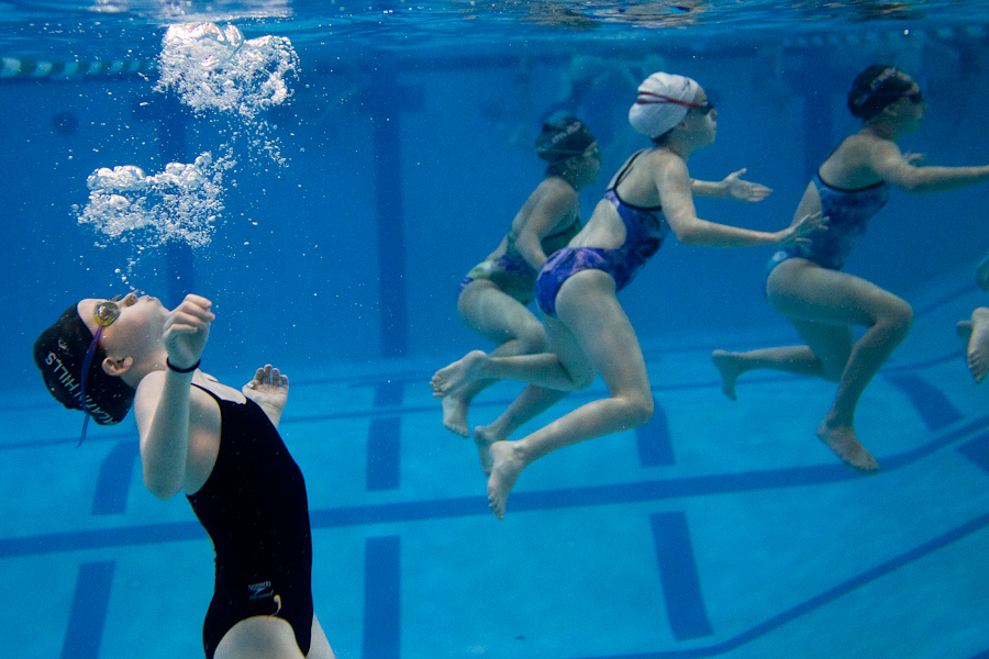 underwater synchronized swimming pictures