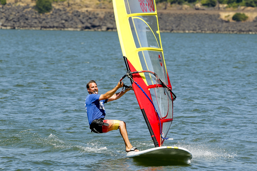 wind surfing hood river