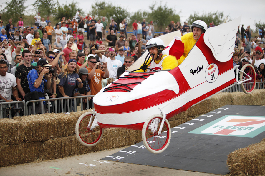 red bull soap box