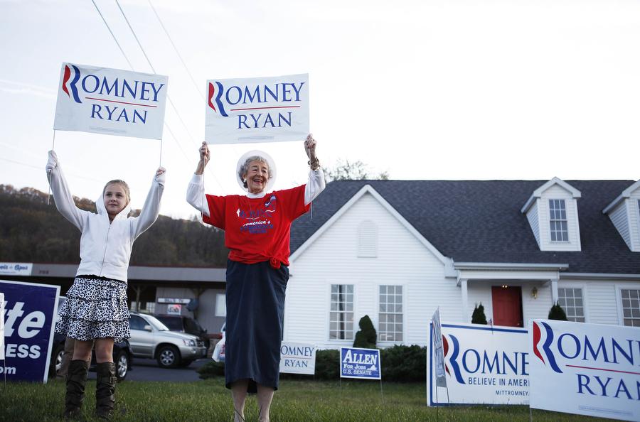 tagg romney visit staunton va