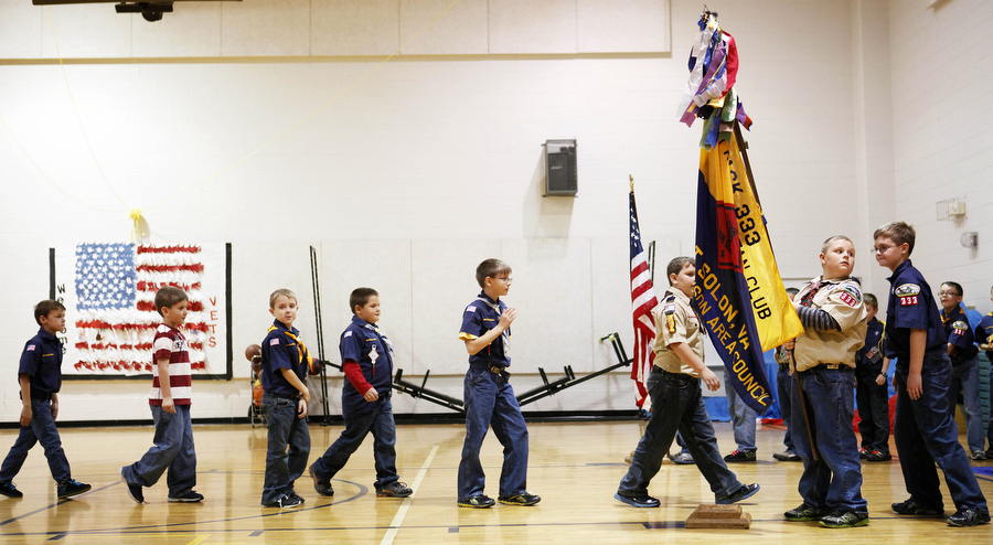 boy scouts veterans day