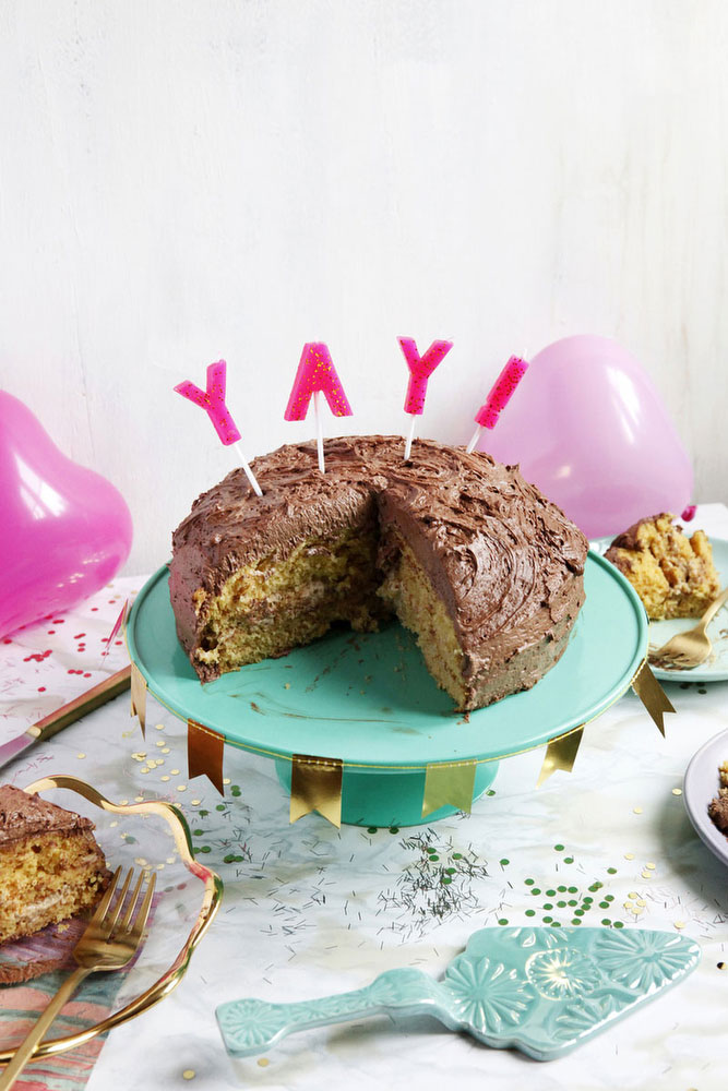 Peanut butter silk cake | Katie Currid