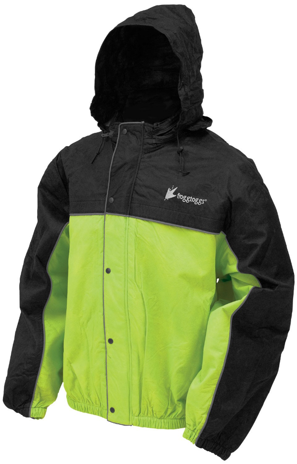 Road Toad Reflective Rain Jacket. The Classic 50 Road Toad action suit is ultra lightweight yet built for the demands of the highway. 100% Waterproof and breathable material.
