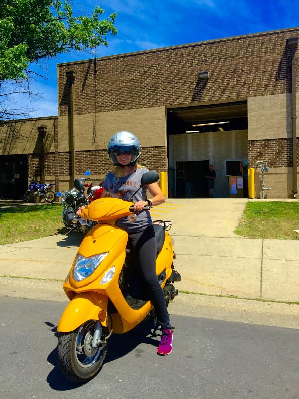 Marina is using her Wolf Brand RX-50 to Commute in DC!
