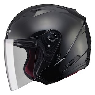 Open Face Helmet with Shield Featured: GMAX GM77