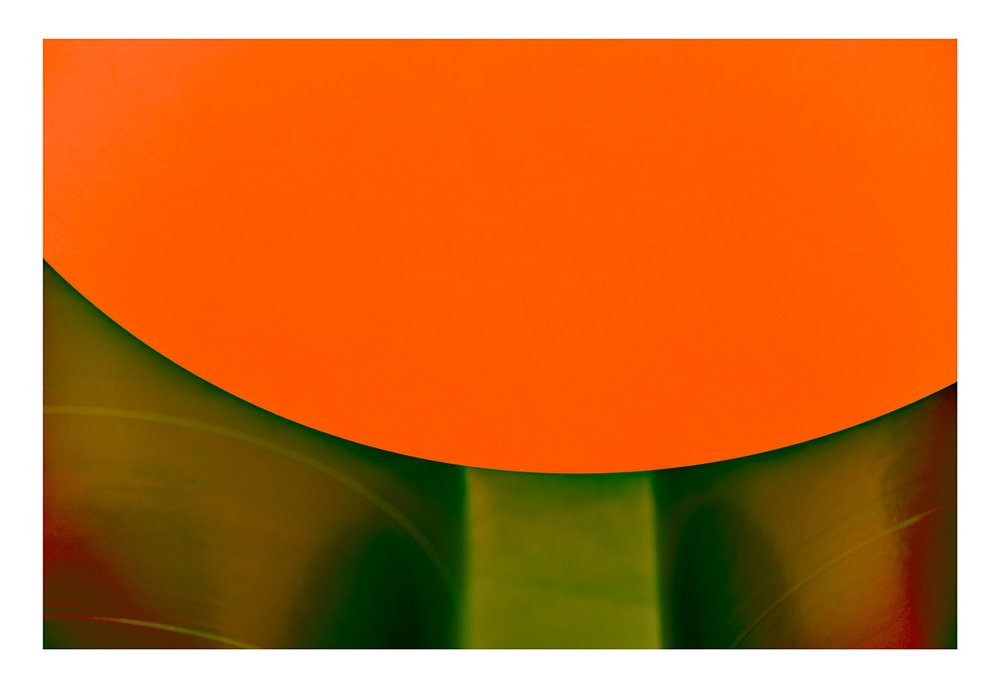 Photograph by Steven Marks. Orange and Green 2017