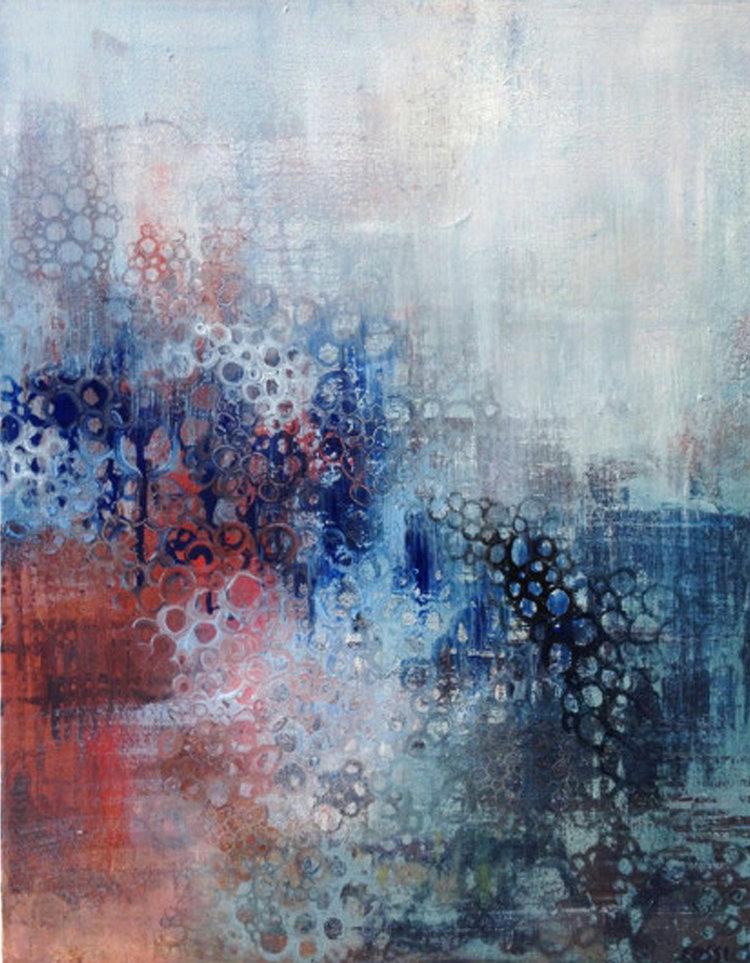 """Serena , Nicole Ida Fossi. Oil on canvas. 20"""" x 26"""". 2013."""