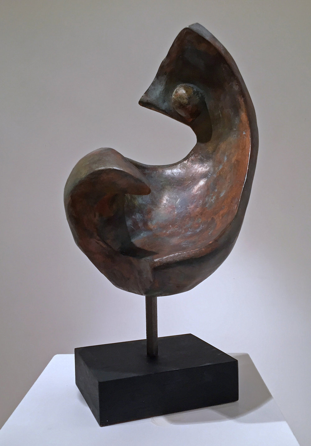 Grace III   Trish Palasik  Resin Cast with Brushed Patina  $900   Click here to inquire.