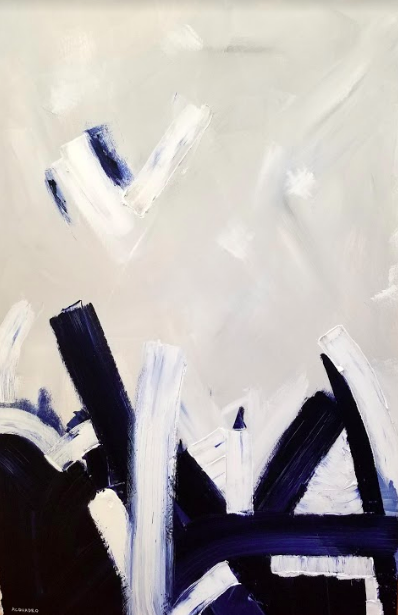 "Andrew Acquadro   Acrylic on canvas  24"" x 36""  $1,100   Click here to Inquire"