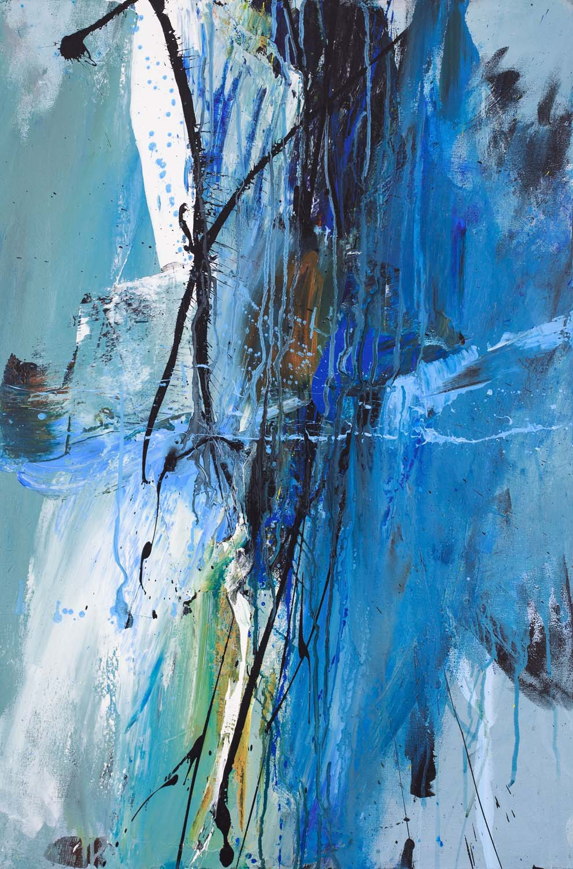"Lifeline, Acrylic Canvas,36"" x 24"""
