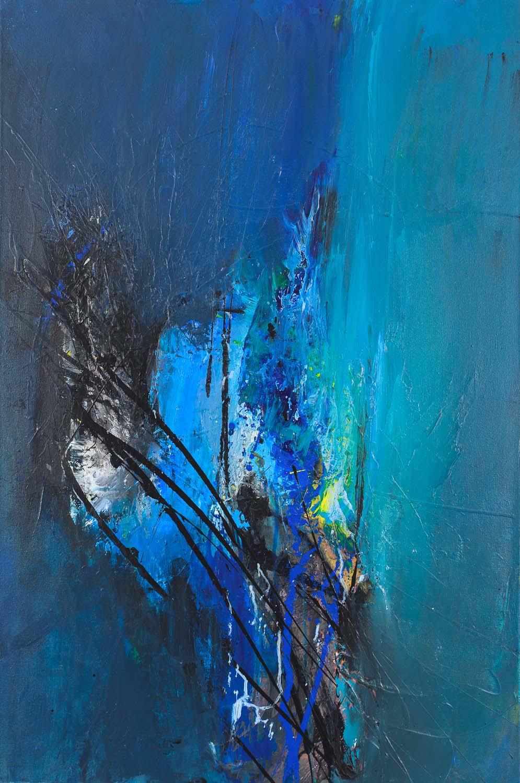 """Letting Go, Acrylic on Canvas,36"""" x 24"""""""