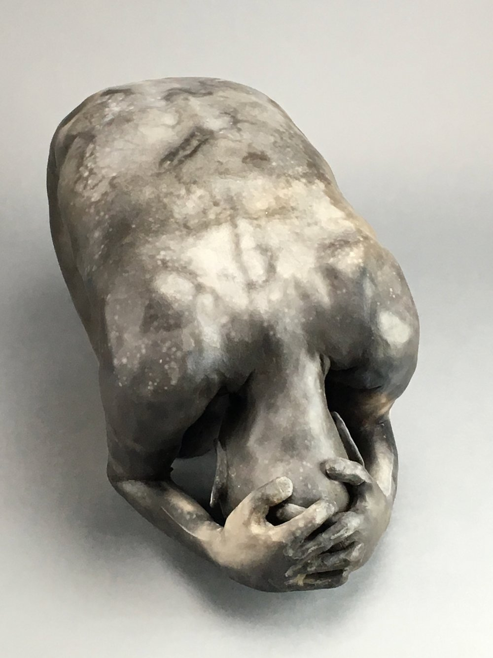 """Bare Earth   Pit-fired Ceramic  10"""" x 21"""" x 10""""  $3000  Click Image to Enlarge   Click here to inquire"""
