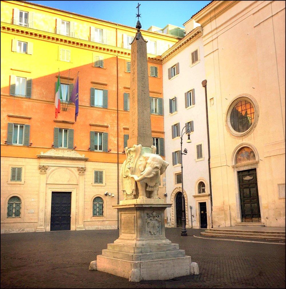 Elephant & Obelisk, Rome