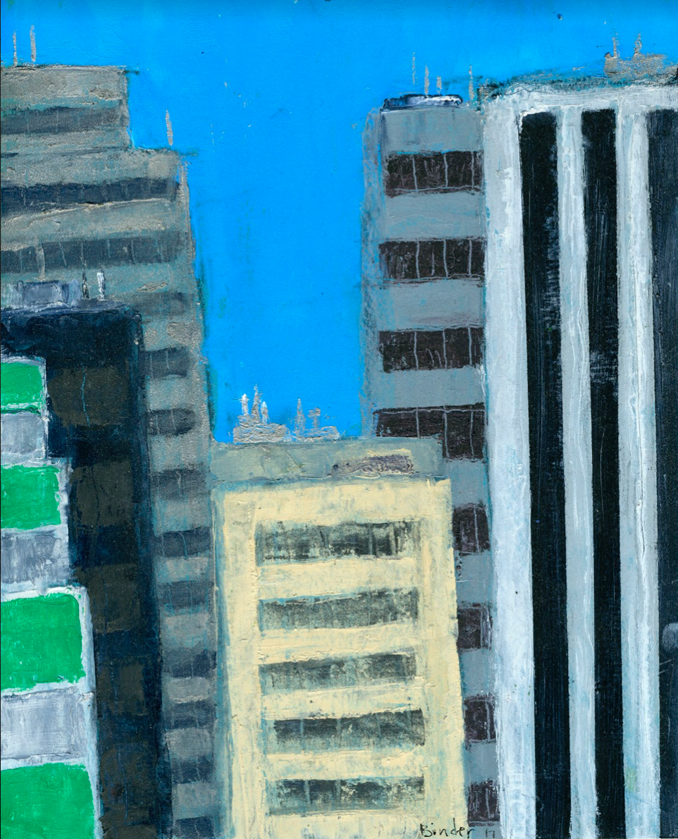 """Rising High   Oil on paper  10"""" x 8""""  $525  Click to Enlarge Image   Inquire"""