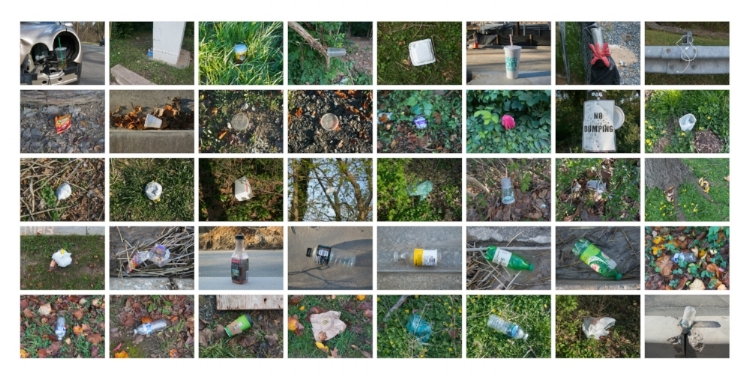 Chevy Chase Lake Drive in one inadequate descriptive system , Page Carr. Multimedia. Dimensions variable.