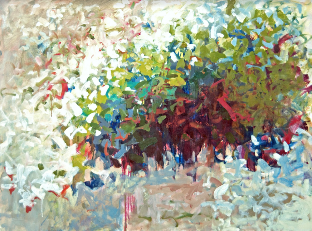 "White Thicket  | 40"" x 30"" 