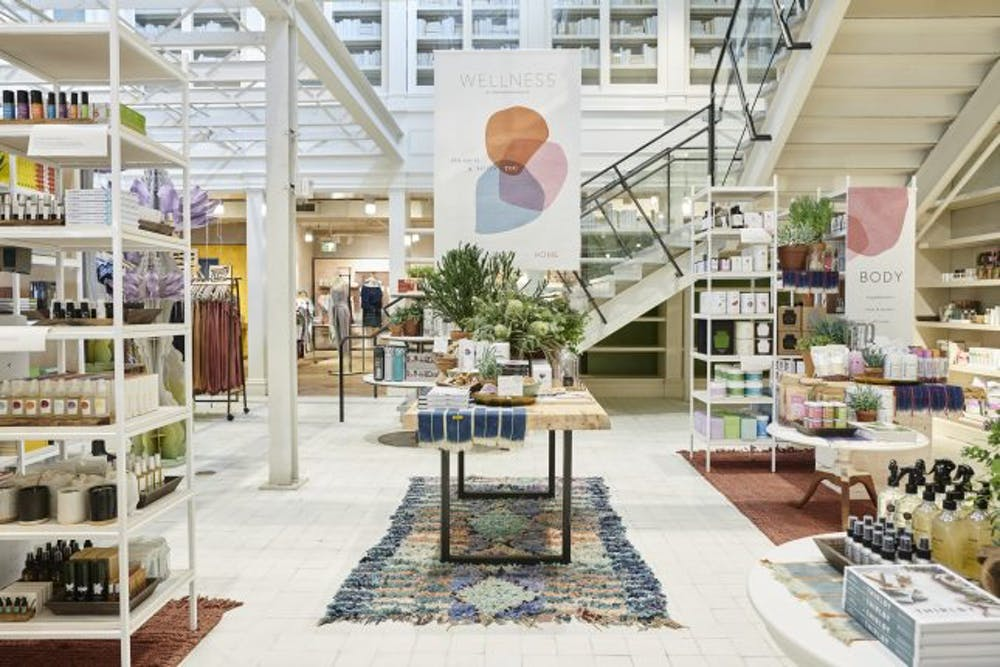 The Wellness Shop at Anthropologie