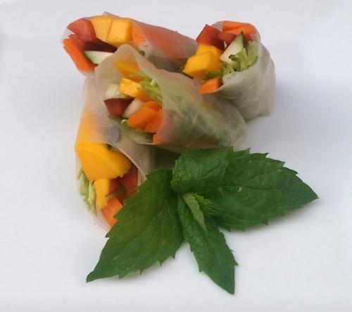Mango Fresh Rolls