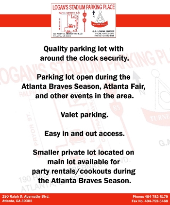 Logan Parking Flyer