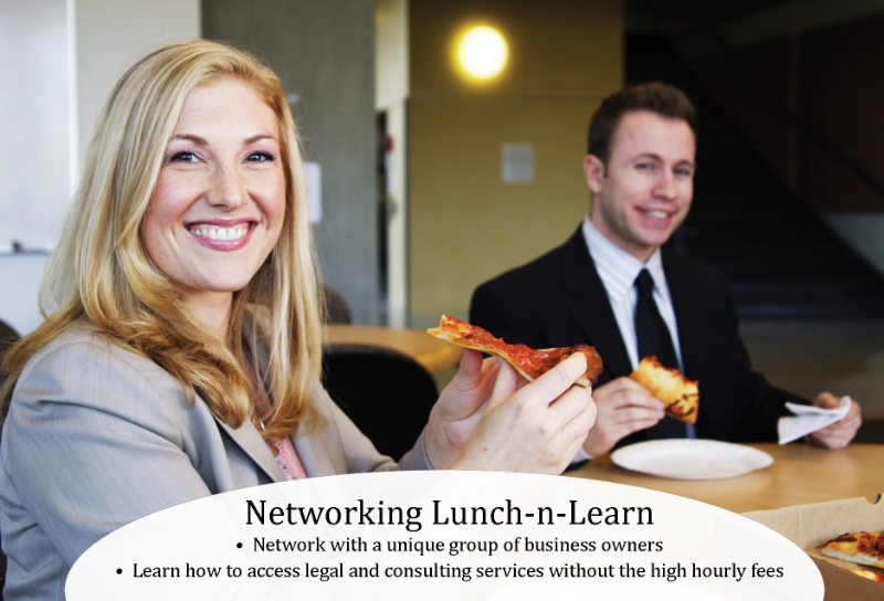 Networking Lunch-N-Learn Front