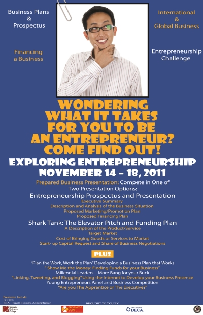 Entrepreneurial Event Flyer