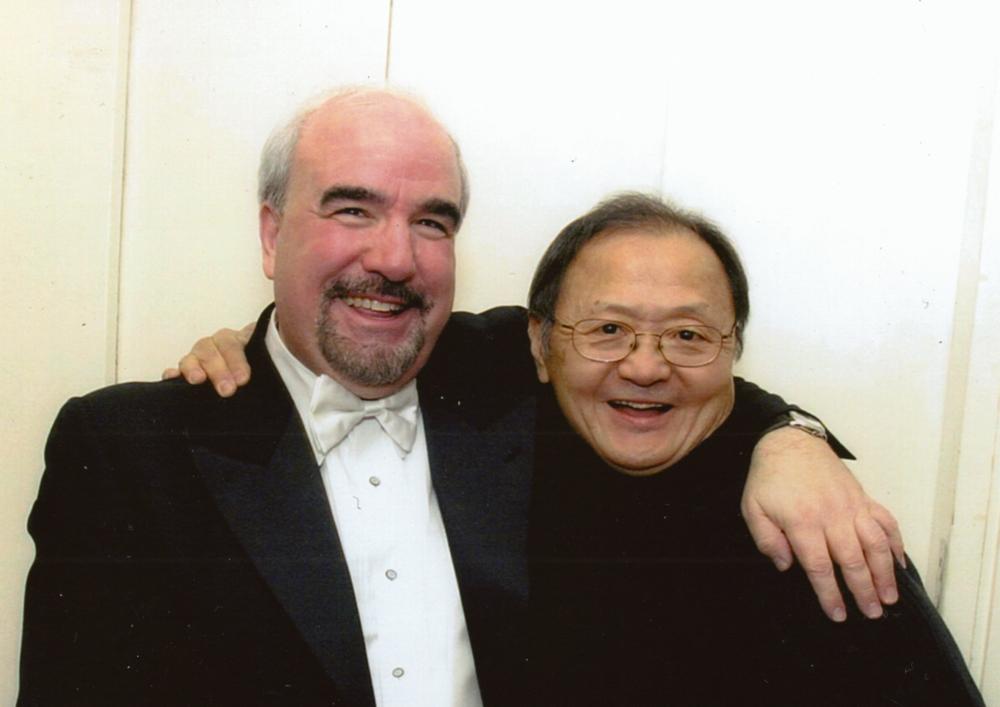 with Glenn Dicterow