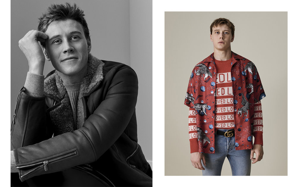 George Mackay / Mr Porter