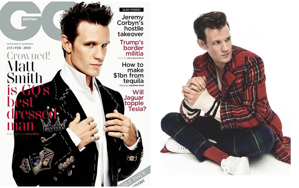 Matt Smith / GQ British
