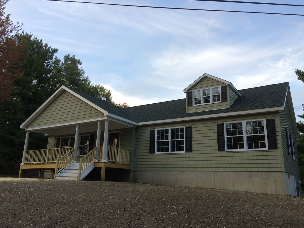 Cort Contracting house built in Elizaville, NY