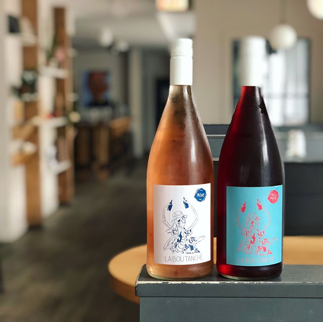 "Trolli party  Latest wine feature from @selectionmassale is their own label La Boutanche.  These particular La Boutanche wines are made by @weingut.knauss and are made from the Trollinger grape.  rosé and ""dark rosé"" (yes technically it's red but we crush it like rosé)  #rosétwoways  #roséallthedays"