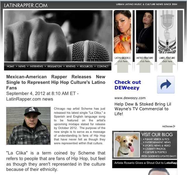 LatinRapper.com Interview