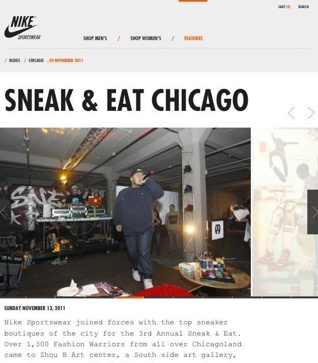 Nike.com Feature