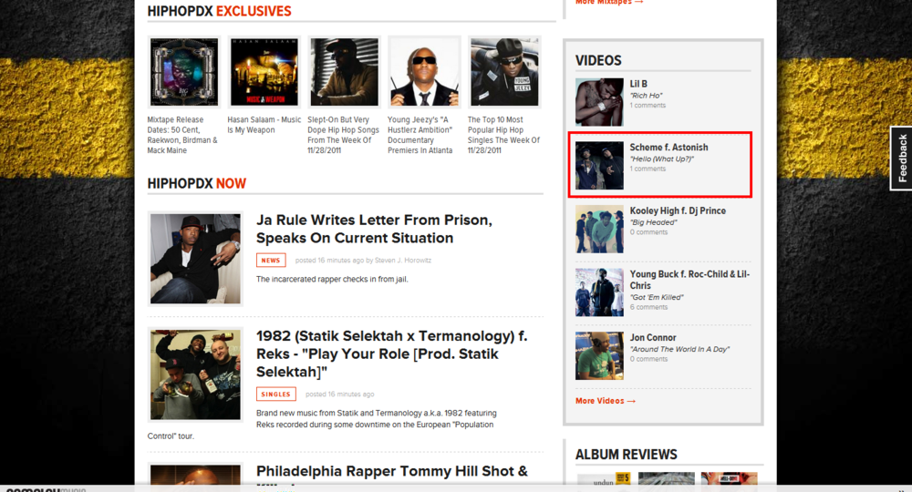 HipHopDX.com Feature