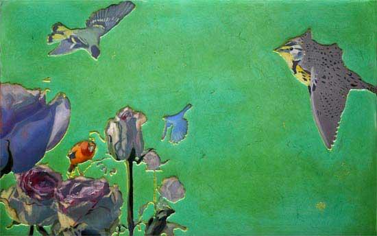 306<br>Meadowlark Rose<br>47.75 x 30<br>SOLD