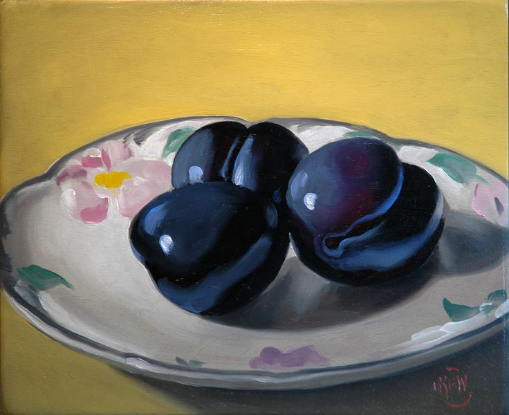 246 Plums #2 <br>SOLD