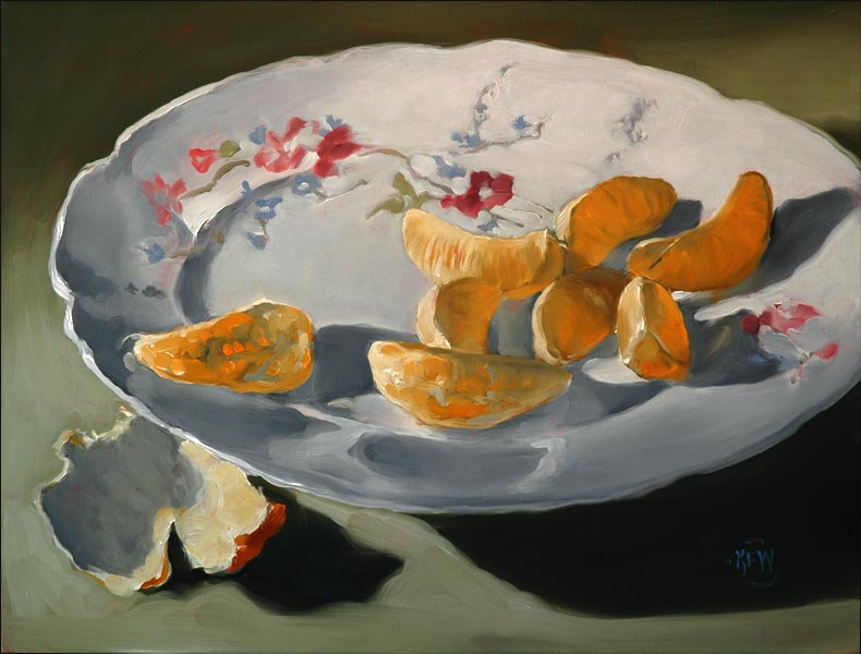 254<br>Clementine Plate<br>SOLD